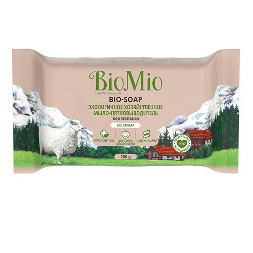 Купить BioMio Хозяйственное мыло без запаха, 200 г (BioMio, Мыло), Россия