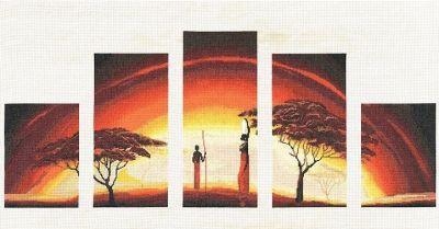 АИ010 Идиллия заката.Африканские истории (Золотое Руно, Золотое Руно)