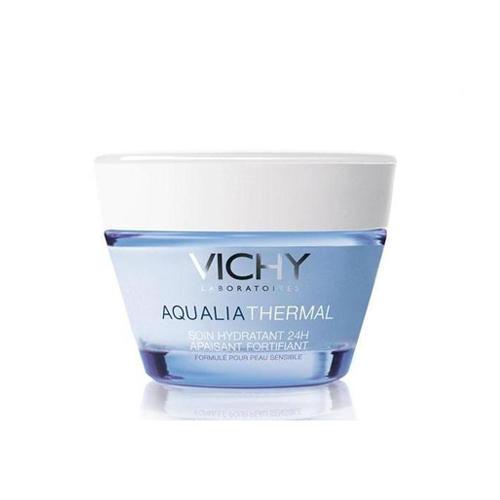 Аквалия Термаль Насыщенный увлажняющий крем 24 часа для сухой чувствительной кожи 50мл (Vichy, Aqualia Thermal) кожа стала чувствительной