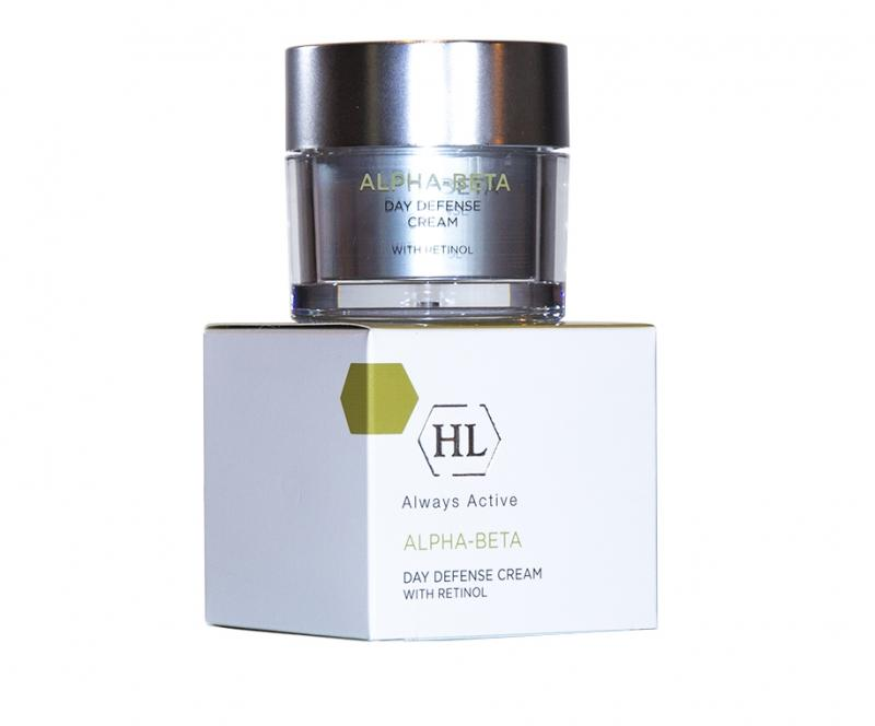 Купить Holyland Laboratories Дневной защитный крем Day Defense Cream 50 мл (Holyland Laboratories, Alpha-Beta & Retinol), Израиль