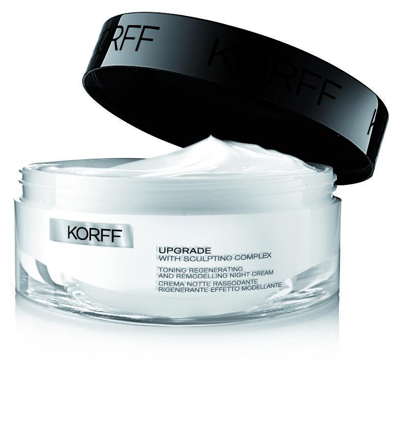 Апгрейд Регенерирующий, моделирующий и тонизирующий ночной крем, 50 мл (Korff, Апгрейд) korff крем для объема губ апгрейд 15 мл