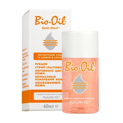 Bio-Oil Масло косметическое от шрамов, растяжек, неровного тона 60 мл (Bio-Oil)