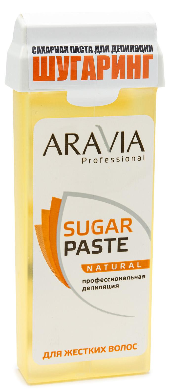 Aravia professional Aravia Professional Сахарная паста для шугаринга в картридже Натуральная мягкой консистенции, 150 гр (Aravia professional, Spa Депиляция) депиляция