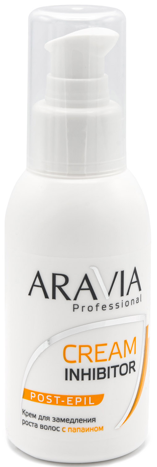 Купить Aravia Professional Крем для замедления роста волос с папаином, 100 мл (Aravia Professional, Spa Депиляция), Россия