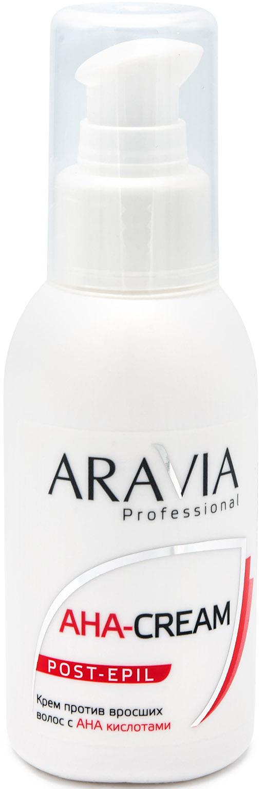 Aravia Professional Крем против вросших волос с АНА кислотами, 100 мл (Aravia Professional, Spa Депиляция)