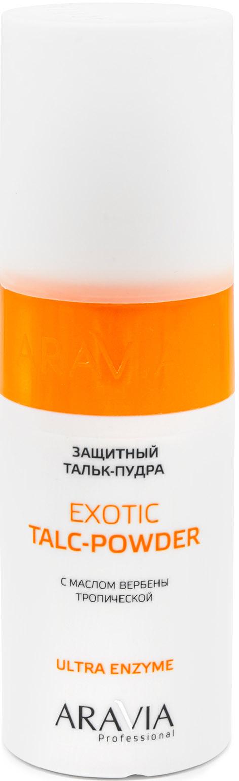 Купить Aravia Professional Защитный тальк-пудра с экстрактом вербены тропической Exotic Talc-Powder, 150 мл (Aravia Professional, Spa Депиляция), Россия