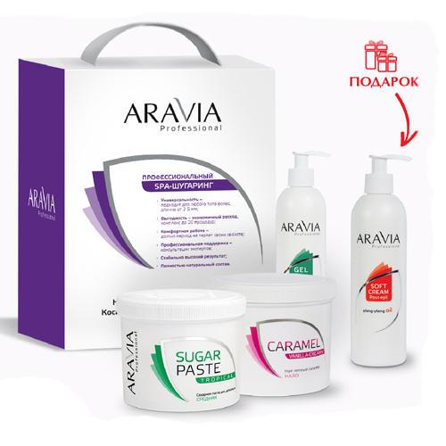 Промонабор 31 2 (Aravia professional, SPA шугаринг) aravia professional карамель для депиляции ванильно сливочная плотной консистенции