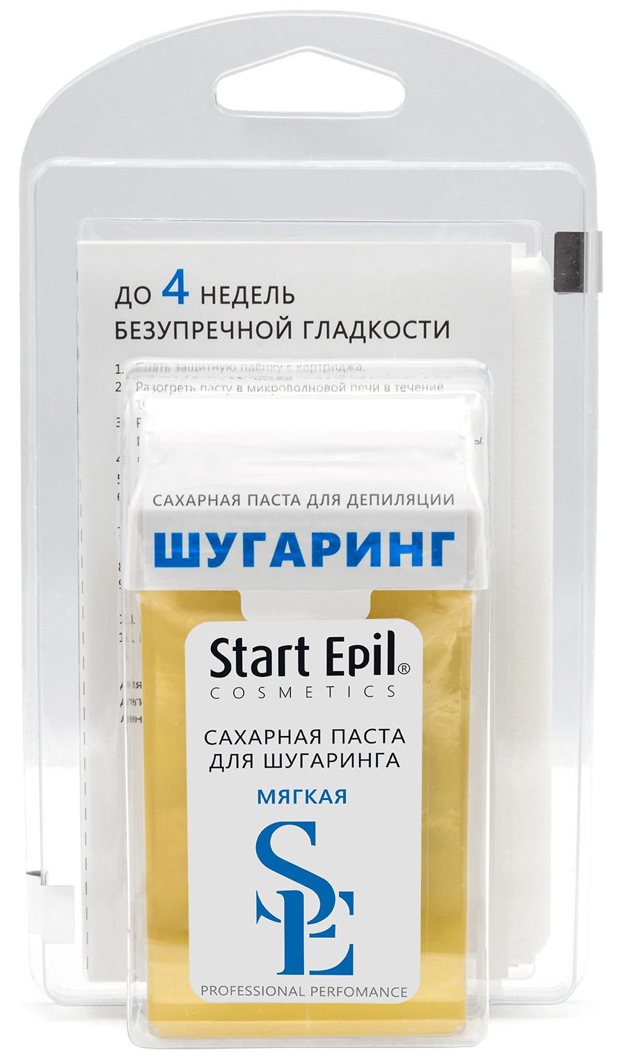 Купить Aravia Professional Start Epil Набор для шугаринга (паста для депиляции в картридже Мягкая + полоски для депиляции) (Aravia Professional, Spa Депиляция), Россия