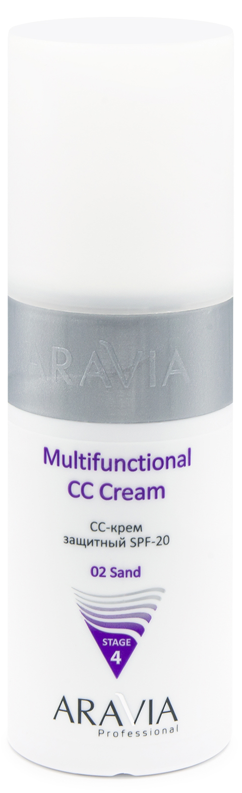 Купить Aravia Professional CC-крем защитный SPF20 Multifunctional CC Cream send 02, 150 мл (Aravia Professional, Уход за лицом), Россия