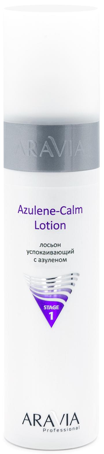 Купить Aravia Professional Лосьон для лица успокаивающий с азуленом Azulene-Calm Lotion, 250 мл (Aravia Professional, Уход за лицом), Россия