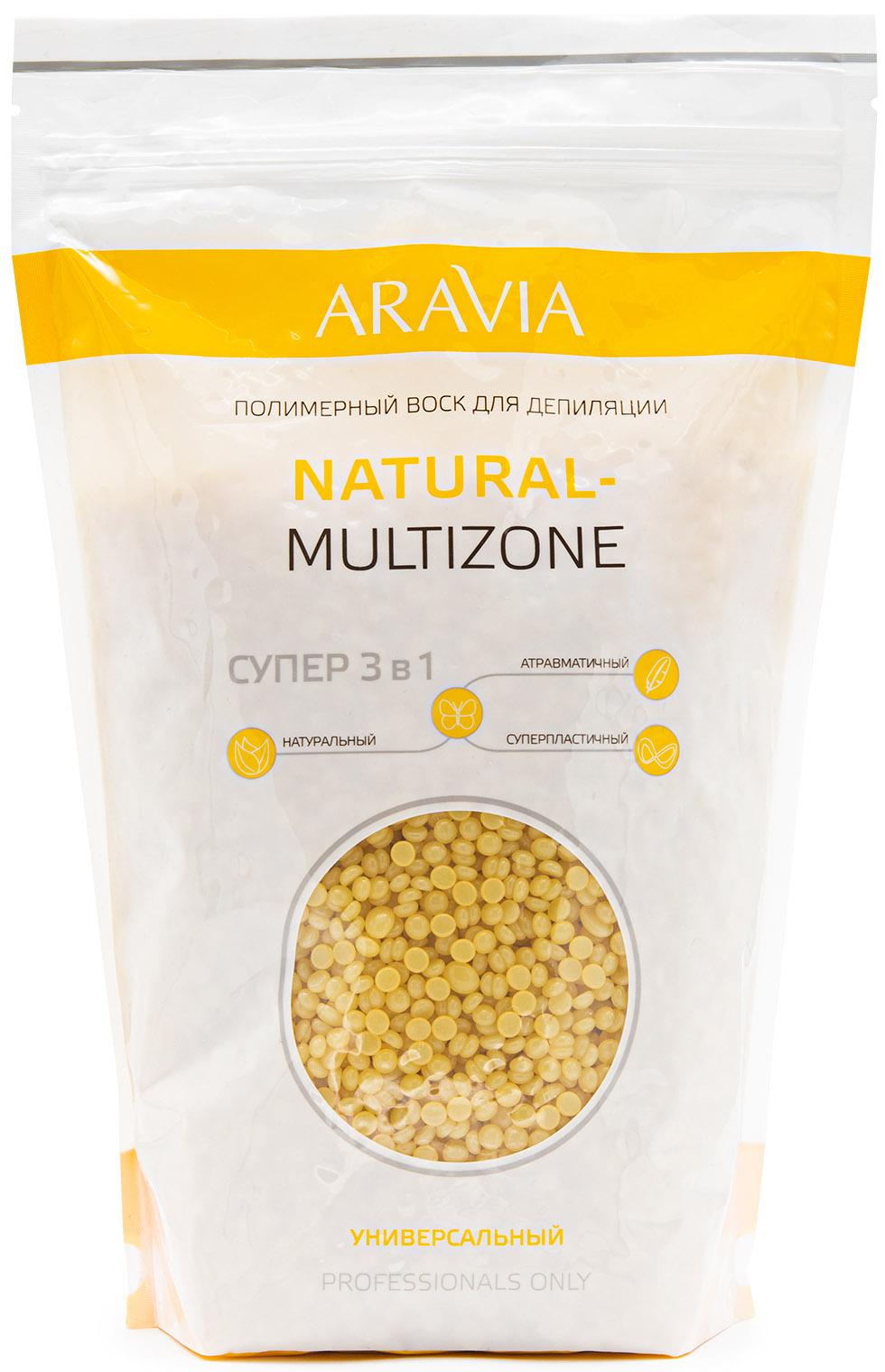 Aravia professional Aravia Professional Полимерный воск для депиляции Naturel-multizone, 1000 г (Aravia professional, Spa Депиляция) депиляция