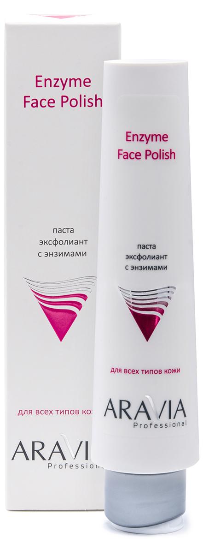 Купить Aravia Professional Паста-эксфолиант с энзимами для лица Enzyme Face Polish, 100 мл (Aravia Professional, Уход за лицом), Россия