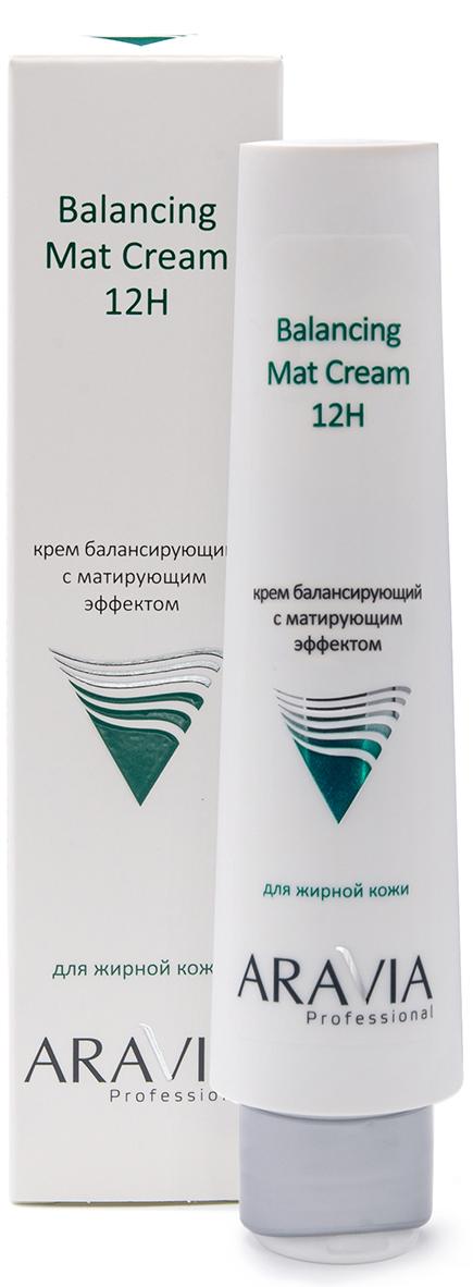 Купить Aravia Professional Крем для лица балансирующий с матирующим эффектом Balancing Mat Cream 12H, 100 мл (Aravia Professional, Уход за лицом), Россия