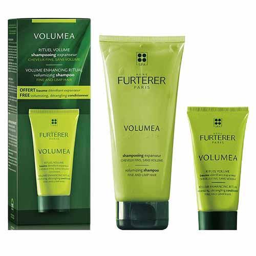 Набор для объема волос (шампунь 200мл, бальзам 30мл) (Rene Furterer, Volumea) rene furterer volumea уход для объема волос без смывания volumea уход для объема волос без смывания