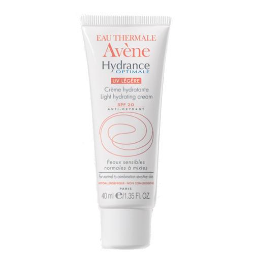 Увлажняющий защитный крем для нормальной и смешанной кожи Гидранс Оптималь UV 20 Лежер 40 мл (Avene, Hydrance)