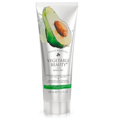 Купить Vegetable beauty Крем для ухода за сухой и огрубевшей кожей ног с маслом авокадо, 200 мл (Vegetable beauty), Италия