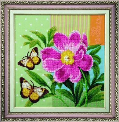 Б731 Майский аромат чм (Чарiвна Мить, Чарiвна Мить) канва с рисунком для вышивания бисером hobby