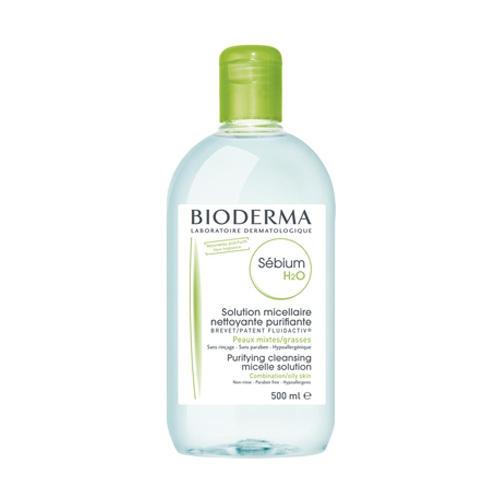 Bioderma Очищающая вода Себиум H2O, 500 мл (Sebium)