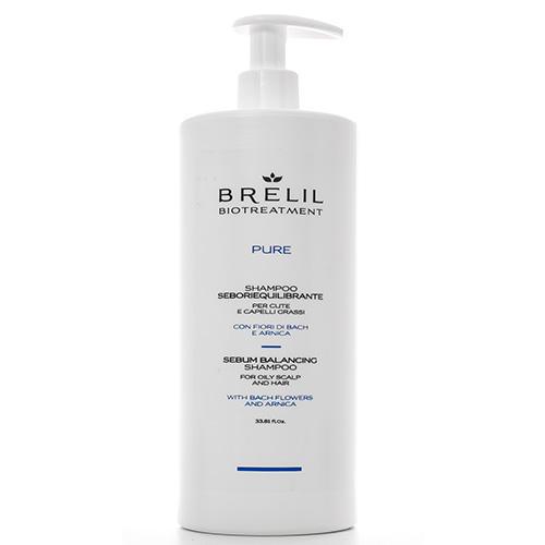 Brelil Professional Шампунь для жирных волос, 1000 мл (Brelil Professional, Biotraitement) белорусский шампунь профессиональный