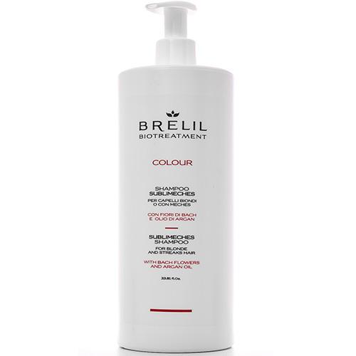 Фото - Brelil Professional Шампунь для мелированных волос, 1000 мл (Brelil Professional, Biotraitement) brelil professional маска biotraitement colour для окрашенных волос 220 мл
