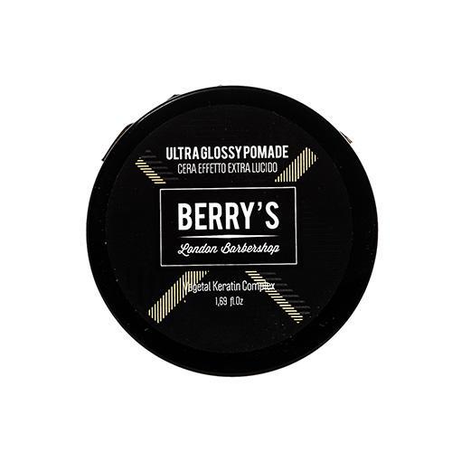 Brelil Professional Моделирующая паста (помада) для волос с ультраблеском Berry's Glossy Pomade, 50 мл (Brelil Professional, Berry's)