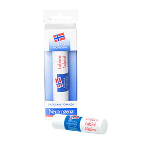 Neutrogena Нитроджина Бальзам-помада 4,8г (Норвежская формула)