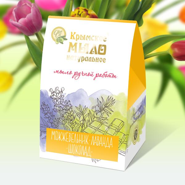 Купить Дом природы Подарочный набор натурального мыла Домик Желтая Акварель (Дом природы, Наборы), Россия