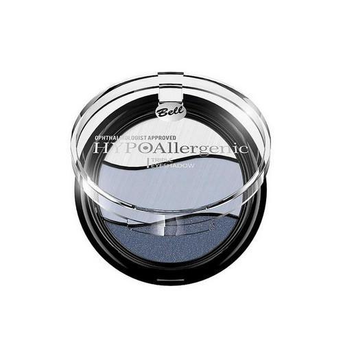 Тени Для Век Трехцветные Гипоаллергенные Triple Eyeshadow 4 г (Bell, Hypoallergenic) цены онлайн