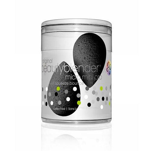 2 спонжа beautyblender micro mini pro черный (Beautyblender, Спонжи)