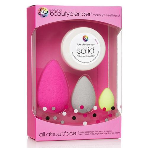Набор beautyblender all.about.face set розовый (Beautyblender, Спонжи) спонж beautyblender beautyblender be066lwizz46