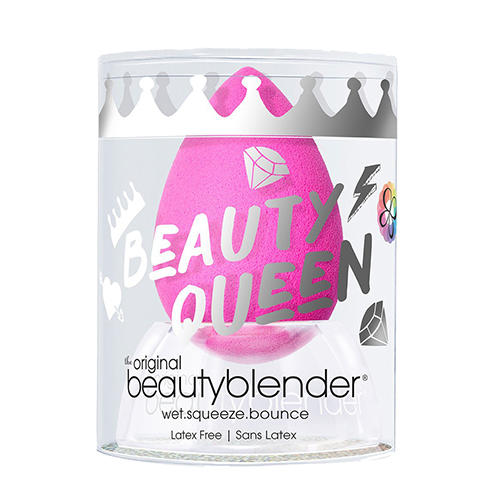 Бьюти-блендер Спонж beautyblender original с подставкой crystal nest розовый (Beautyblender, Спонжи) фото 0