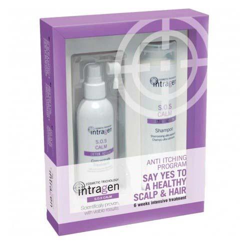 Купить Revlon Professional Набор для чувствительной кожи (шампунь + крем-сыворотка) 1 шт (Revlon Professional, Intragen), США