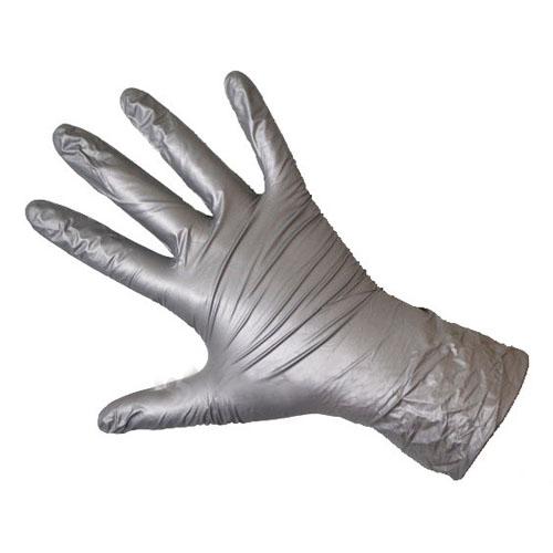Чистовье Перчатки нитрил серебристые М Safe&Care 100 штук (Чистовье, Расходные материалы для рук и ног) расходные материалы