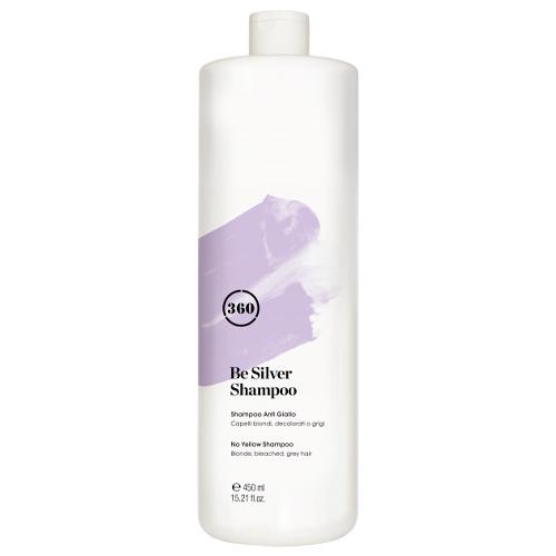 Купить 360 Антижелтый шампунь для волос 450 мл (360, Be Silver)