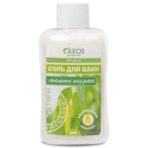 Купить Oleos Морская соль для ванн Свободное дыхание 400 г (Oleos, Морская соль)