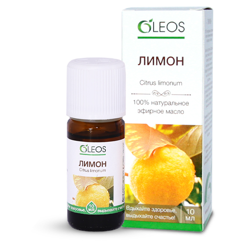 Oleos Масло эфирное Лимон 10 мл (Oleos, Масло эфирное)