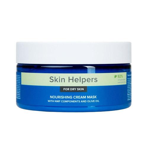 Купить Gloria Питательная крем-маска для сухой кожи с компонентами NMF и маслом оливы 200 мл (Gloria, Botanix. Skin Helpers), Россия