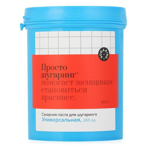 Gloria Сахарная паста для депиляции универсальная Просто Шугаринг 0,8 кг (Gloria, Шугаринг) аравия шугаринг официальный