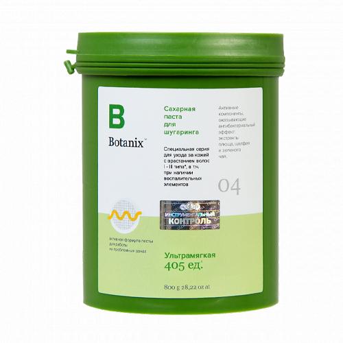Gloria Сахарная паста для шугаринга ультрамягкая 0,8 кг (Gloria, Botanix)