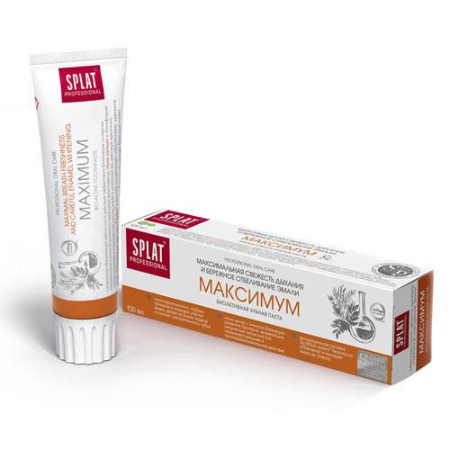 SPLAT Лечебно-профилактическая профессиональная зубная паста Максимум 100 мл (Professional)