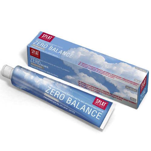 Splat Гипоаллергенная зубная паста Зеро Баланс 75 мл (Special)