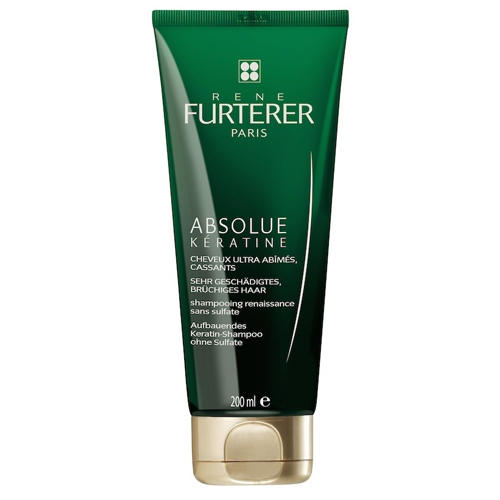купить Absolue Keratine Восстанавливающий шампунь 200 мл (Rene Furterer, Absolue Keratine) дешево