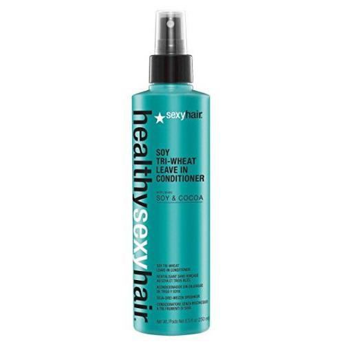 Кондиционер несмываемый соевый Soy TriWheat Leave In Conditioner 250 мл (Sexy Hair, Healthy Sexy Hair) цена и фото