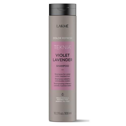 Lakme Шампунь для обновления цвета фиолетовых оттенков волос 300 мл (Lakme, Teknia)