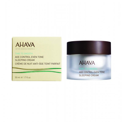 Купить Ahava Антивозрастной ночной крем для выравнивания цвета кожи 50 мл (Ahava, Time To Smooth), Израиль