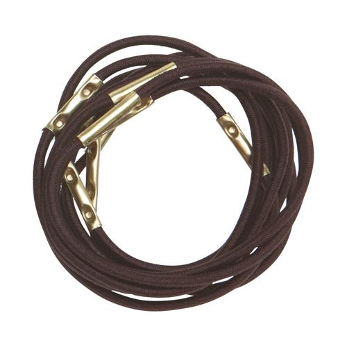 Купить Dewal Резинки для волос, коричневые, midi 10 шт (Dewal, Валики и резинки)