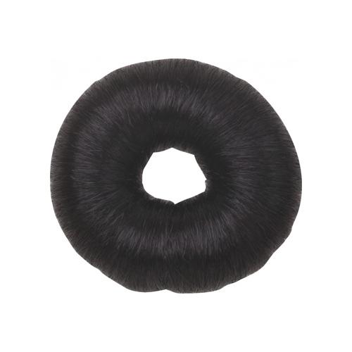 Dewal Валик для прически, искусственный волос, черный d 8 см (Dewal, Валики и резинки)