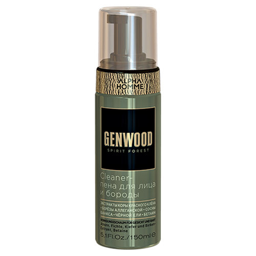 Cleaner-пена для лица и бороды Genwood, 150 мл (GENWOOD)