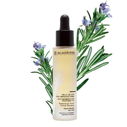 Academie Масло-уход для проблемной кожи, Французский розмарин 30 мл (Academie, Aromatherapie) масло для проблемной кожи псораведика