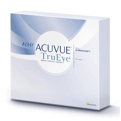 Acuvue Однодневные контактные линзы 1-Day Acuvue TruEye 90 шт (Acuvue, Однодневные линзы)